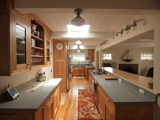 Pacific Grove house photo - Gourmet kitchen fully stocked with all utensils, cookware and glasses.