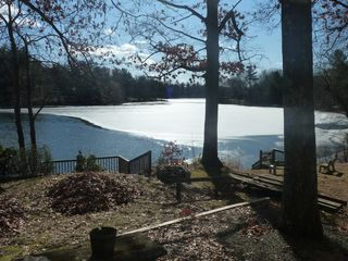 Copake house photo - It was a warm winter...not much ice on the lake