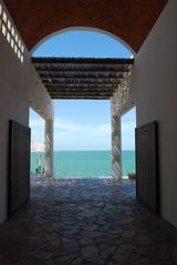 Kino Bay villa photo - The Breezeway opens to spectacular views of the Sea of Cortez.