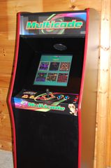 Wears Valley cabin photo - Fun for the Kids. Multicade Arcade Machine with 60 different Video Games to play
