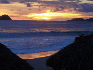 Ixtapa condo photo - Spectacular sunsets are pretty much a guarantee!