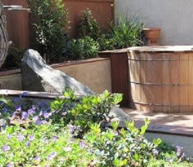Solana Beach house photo - Japanese Ofuro spa tub with outdoor heated shower