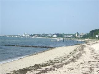 Hyannis - Hyannisport house photo - our favorite view--off season-- from the beach towards Hyannisport harbor.