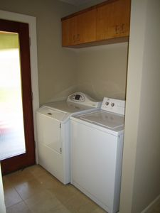 Washer and dryer provided