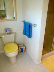Slaughter Beach house photo - Master bath with shower