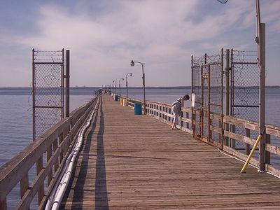 Only One Mile To Fishing Pier