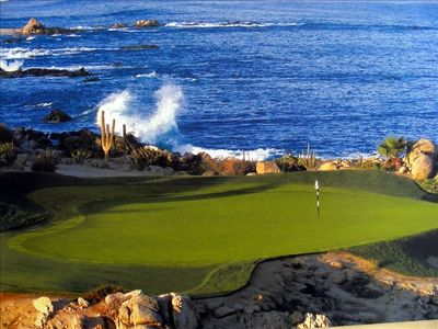 Cabo San Lucas villa rental - Unlimited Golf of unmatched beauty and challenge!