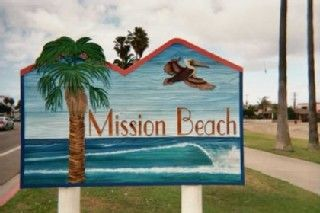 Mission Beach is very cool! Weather's great & no bugs!