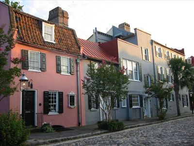 Explore Charleston's cobble stoned streets