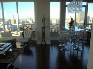 Toronto condo photo - LIVING ROOM WEST VIEWS