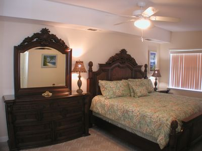 Brand New High Quality King Bed with matching Tropical Furniture in Master Suite