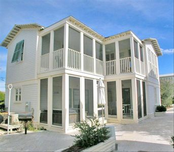 Bahama Mama Exterior - Cottage Rental Agency Seaside, Florida