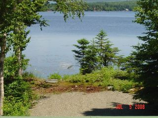Looking at Back Lake - Pittsburg house vacation rental photo