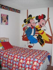 Mickey and Minnies bedroom