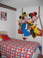 Hampton Lakes villa photo - Mickey and Minnies bedroom
