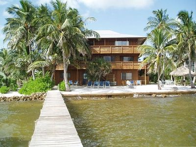 Pine Island apartment rental - View from pier