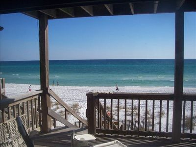 Gorgeous Gulf front townhome on private beach!