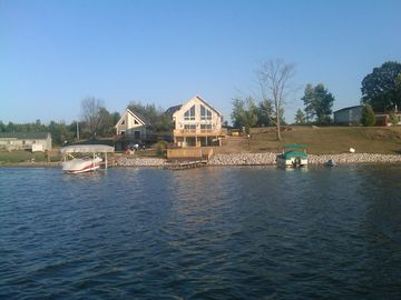 Hillsdale house rental - Home from out in the lake