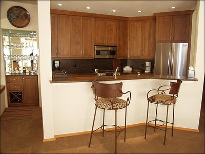 Kitchen with Bar