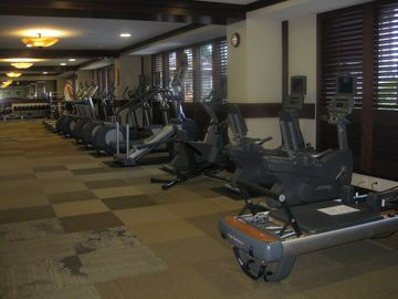 Fitness Spa Center with latest exercise equipment