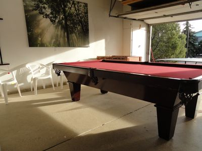 After a fun day out, come and relax with a game of pool, ping pong or foosball.