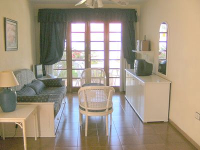 Costa Adeje apartment rental - living room in one bedroom and 2 bedroom apt