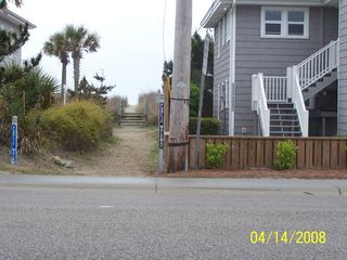 Cherry Grove Beach condo photo - Walkway to beach