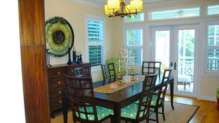 Captiva Island house photo - Formal Dining Room with Doors to Lanai