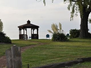 Vermilion house photo - Gazebo for viewing beautiful Lake Erie