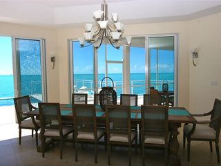 Providenciales - Provo villa photo - Formal Dining for special evenings with special people.