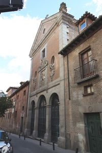 In front of the apt. Convent where's the tomb of Cervantes.Writer of DON QUIXOTE