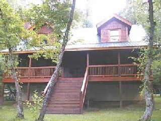 Full Log Cabin on the Coosawattee River