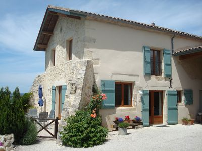 Two Gites with Pool Near Cadillac, Gironde, Aquitaine - Petit Laurier (2 Bedrooms, Sleeps 4)