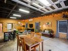 Work, play or dine, spacious cozy chic barn