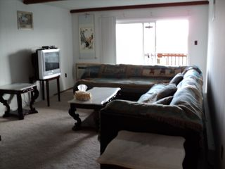 9400 Oceanside Ocean City condo photo - Big Living Room Sofa Seat to 8 Sleep to 2