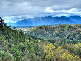 Pigeon Forge cabin photo - breathtaking view from upper deck