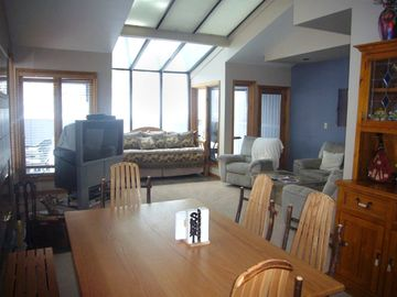 Lower level condo different view of living area