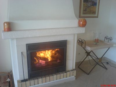 Beautiful log burner for the winter months 35D