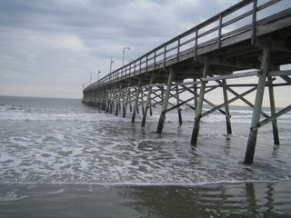 Calabash condo photo - Sunset Beach fishing pier
