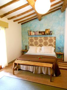 Molino del Piano farmhouse rental - a Stalla bedroom