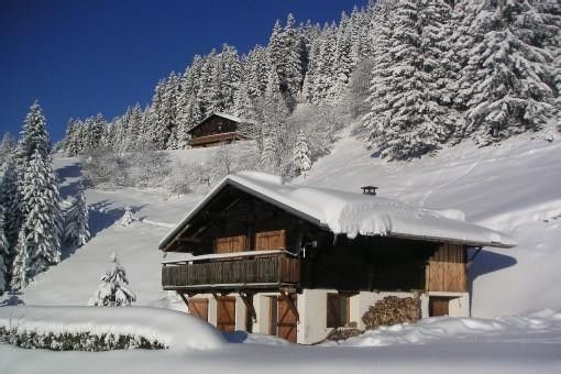 chalet d 39 alpage les saisies 700m piste pleine nature vue. Black Bedroom Furniture Sets. Home Design Ideas