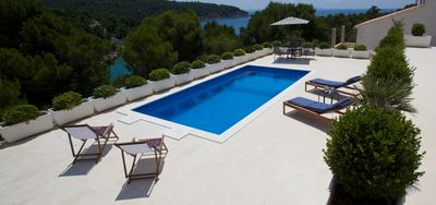 Beach Chic Villa, First Row To The Sea In Exclusive Duboka Bay, Stunning Views