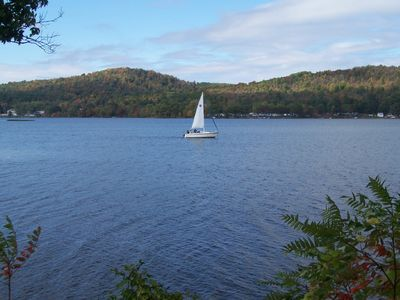 Sail away on Cossayuna Lake