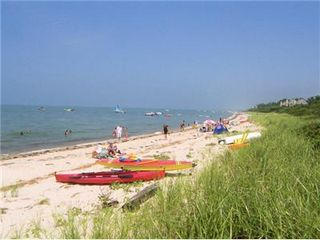 Brewster house photo - One of Brewster''s best private beaches