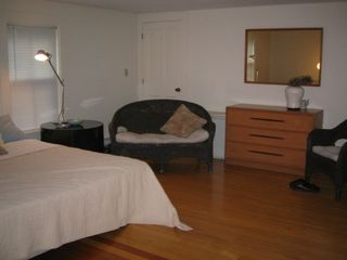 York Harbor apartment photo - Upstairs bedroom