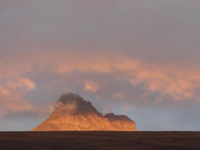 Stac Pollaidh in evening light