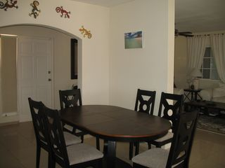 Aruba villa photo - Indoor Dining For 6