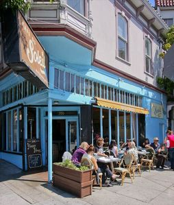 San Francisco apartment rental - Bakery and Outdoor Cafe.