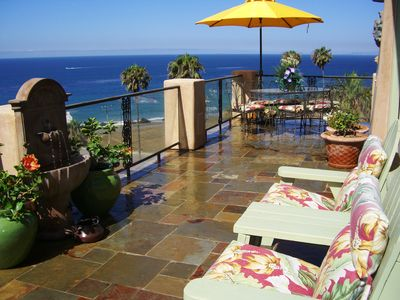 WOW ocean views and sounds of the breakers from Villa spacious decks