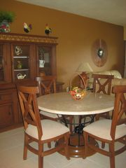 Puerto Vallarta condo photo - Indoor Dining Area; Granite table and 6 chairs
